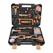 Home Repair Tools Kit,82 Pieces General Household Hand Basic Tool with Plastic