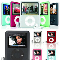 "Slim 1.8"" LCD MP4 Media MP3 Player Video Game Movie FM Radio Voice Recorder Blue"
