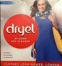Dryel At Home Dry Cleaner Starter Kit Breezy Clean Scent 2 Loads Each(Lot of 5)
