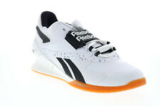 Reebok Legacy Lifter II FV0533 Womens White Athletic Weightlifting Shoes