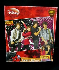 "Disney Camp Rock Puzzle 300 Pieces 9"" x 13"" Sealed Box"