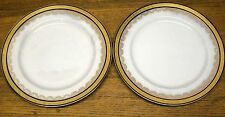 Pair of STAINED Old Plates - Minton - Baily Banks & Biddle Philadelphia