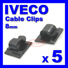 iveco wiring looms iveco self adhesive cable clips wiring wire loom harness 8mm holder clamp