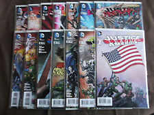 Justice League Of America #1-10+ 7.1-7.4 3D New 52 (1st Print) DC