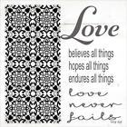 Art Print, Framed or Plaque By Cindy Jacobs - Love Never Fails - CIN1191