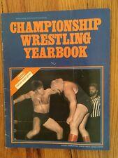 1976 Mr. McMahon Championship Wrestling Yearbook