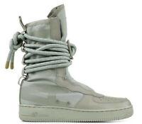 Nike Men's Size 7.5 SF Air Force 1 Hi Shoes Sage/Sage (aa1128-201)