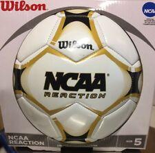 047d88870a Wilson Sporting Goods NCAA reacción Pelota De Fútbol Talla 5