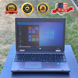 HP ProBoook Laptop With Microsoft Office | Windows 10 Pro | 120 GB SSD
