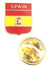 Spain Shield Enamel Lapel Pin Badge T978