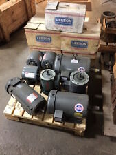 Lot of (13) Electric Motors - 1/4 HP to 3 HP
