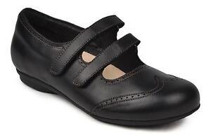 Footprints Sao Luis schwarz Leder Gr. 36 schmales Birkenstock Fußbett