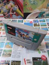 Super Nintendo SNES:Super Pang [TOP CAPCOM & 1ERE EDITION RARE] SEUL - Fr