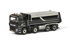 WSI MODELS PREMIUM LINE DAF CF OFF ROAD TIPPER 8X4 BLACK 04-2037