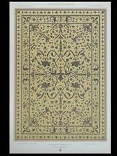 BRODERIE RENAISSANCE, TAPIS - LITHOGRAPHIE 1877 ORNEMENTATION, DUPONT-AUBERVILLE