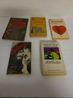 Lot Of 5 Vintage Sleaze GGA Paperback Books Pulp Erotica Rare OOP