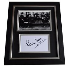 Pete Best SIGNED 10x8 FRAMED Photo Mount Autograph Display Beatles Music COA