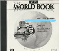 Classic Pc Software - 1999 World Book - Multimedia Encyclopedia