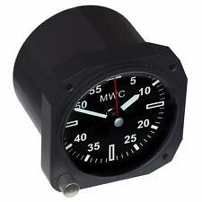 Limited Edition Replica Aircraft Instrument Cockpit Clock ideal for a desktop