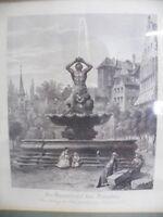 Nürnberg Brunnen am Maxplatz, mit Steinmetz -R54