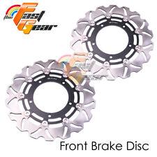 Racing Front Brake Disc Rotor x2 For SUZUKI GSX R 1300 HAYABUSA 08-10 11 12 13