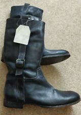 Neosens Boots Men`s Black New Size 41 (UK8) RRP £175.00
