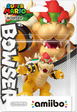 Nintendo Super Mario Amiibo Bowser Mario Party 10 WiiU 3DS US NA Version