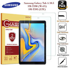 2PC Tempered Glass Screen Protector for Samsung Galaxy Tab A 10.5 T595 SM-T590