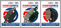 Suzuki SV 650 , S 03-11 Front & Rear Brake Pads Full Set (3 Pairs)