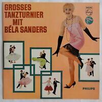 9818) LP - Grosses Tanzturnier mit Bela Sanders - Philips