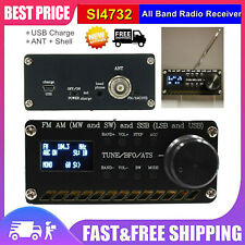 SI4732 All Band Radio Receiver FM AM (MW And SW) SSB (LSB And USB) w/ Shell tps