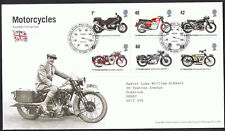 Motorcycles 2005 - First Day Cover - Stamps SG2548 to SG2553 Edinburgh Cancel