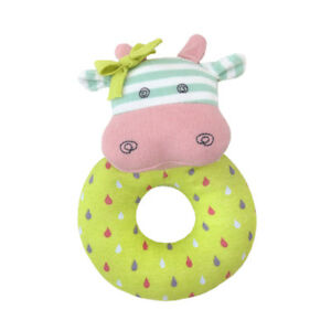 NEW Apple Park Belle The Cow Organic Rattle Children Baby