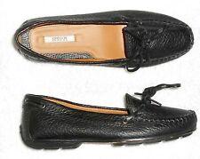 GEOX mocassins cuir grainé noir P 35 TBE