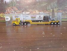 Trucks N' Stuff   Kenworth Truck & Low Boy Trailer   (Farwest Steel)    1/87