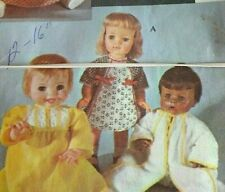 Very Vintage Doll Clothing Patterns Sewing Craft Dress Making Large Lot