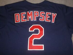 CLINT DEMPSEY SIGNED ALL-STAR CELEBRITY SOFTBALL JERSEY SEATTLE SOUNDERS FC