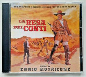 Ennio Morricone CD La Resa Dei Conti Film Score Soundtrack
