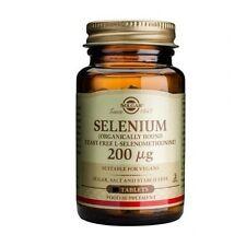 Solgar Selenium 200ug Tablets (Yeast-Free) 250