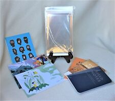 """100 4""""x6"""" Resealable Archival Poly Sleeves for Collectibles,Field Notes, Etc."""