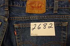 """#2682 Levi's 505 Regular Fit 100% cotton jean W 37 x 31 1/2"""" L."""