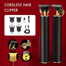 Cordless Close Cutting T-Blade Trimmer Rechargeable Clipper Ceramic Electric NEW