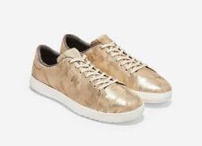 Cole Haan Grandpro Women's Sneaker, Gold Camoflouge + Optic White, Size 5
