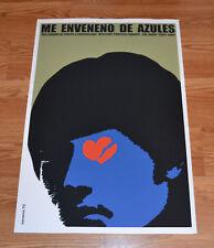 """24x36"""" Cuban movie Poster 4 film Poisoned by Blues.Me enveneno de azules.LAST 1"""