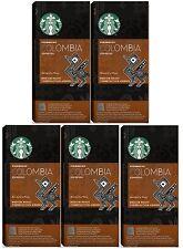 Starbucks Caffè Nespresso Capsule Caffè Espresso Colombia COMPATIBILI BACCELLI 50, 5 x 10 Pod