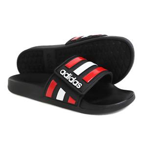 Adidas Adilette Comfort Slides Adjustable Fit Beach Flip Flops Sandals FY8138