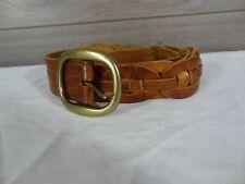 Brave Beltworks Woven Leather Belt Size 36