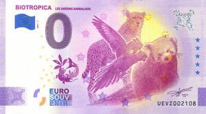 27 VAL-DE-REUIL Biotropica, 2021, Anniversaire, Billet Euro Souvenir