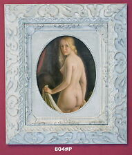 Nude Lady Framed Oleograph / Oilograph  804#P  Reproduction Picture , Art