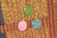 Set of 3 Pressies Pressed Pills Ecstasy Pill MDMA Where's Molly EDM Raver Festiv